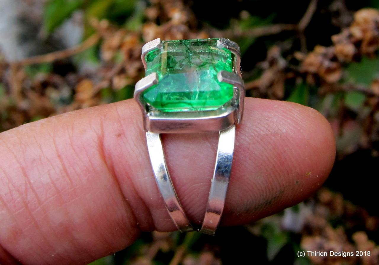 emerald ring colombian emerald emerald jewelry